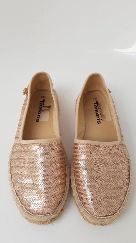 Tamaris Pantoffels stoffig roze