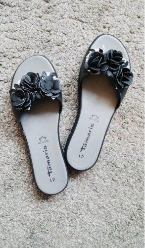 Tamaris Sandales confort noir-blanc