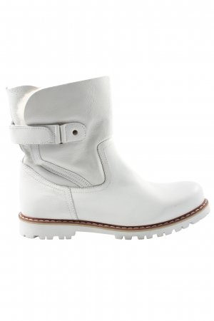 Tamaris Slouch Boots white casual look