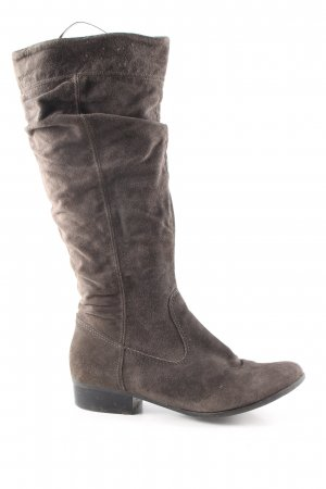 Tamaris Slouch Boots brown casual look