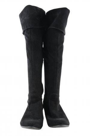 Tamaris Slouch Stiefel schwarz Casual-Look