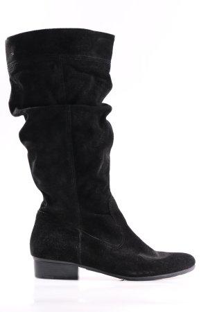 Tamaris Ocieplane botki czarny W stylu casual