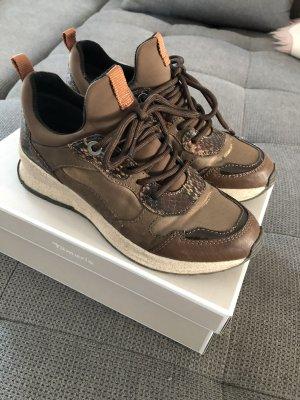 Tamaris Sneaker braun gold Bronze Gr.37