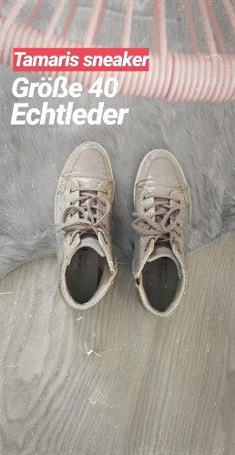 Tamaris Sneaker Echtleder Pailetten