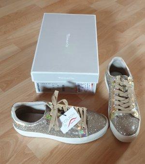 Tamaris Sneaker gold - Gr. 38 - NEU!