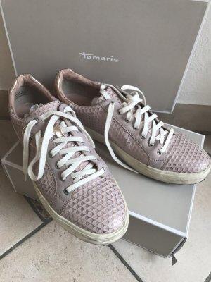 Tamaris- Sneaker-low-rosé-Structure