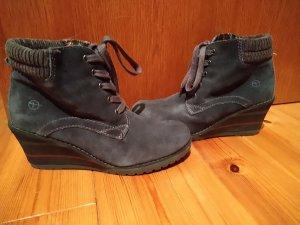 Tamaris Sneaker con tacco grigio scuro