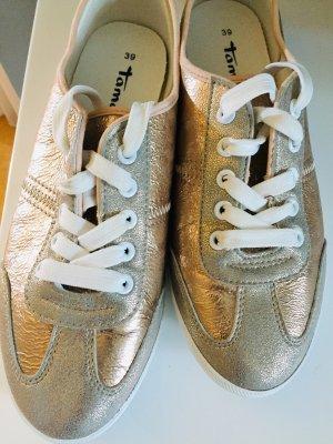 Tamaris Sneaker Schuhe Gold 39 Damen