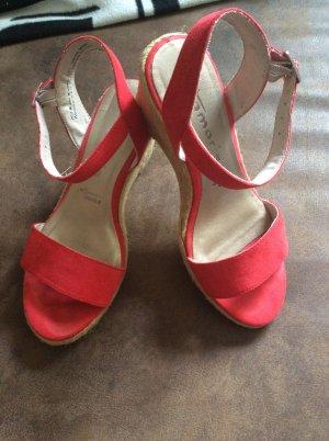Tamaris Sommer Sandaletten Gr 36 rot