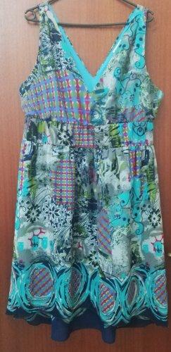Tamaris Robe bas asymétrique multicolore polyester