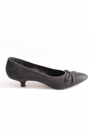 Tamaris Spitz-Pumps schwarz Business-Look