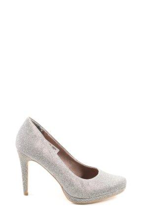 Tamaris Zapatos de punta gris claro elegante