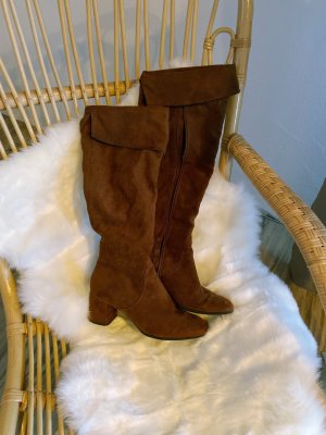 Tamaris Overknees brown-light brown