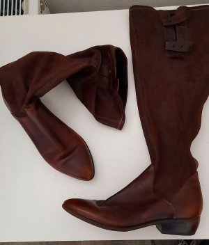 Tamaris Stretch Boots brown-cognac-coloured