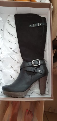 Tamaris Platform Boots black