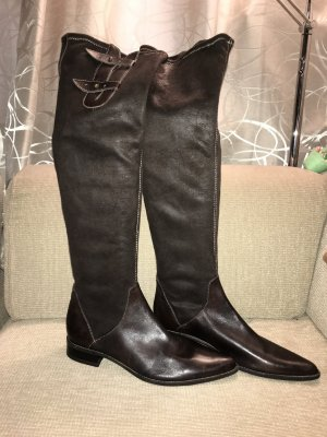 Tamaris Slouch Boots brown-bronze-colored