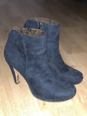 Tamaris Stiefel Stiefelette Gr. 39 blau