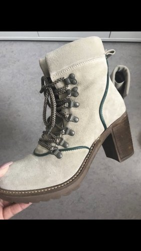 Tamaris Lace-up Booties multicolored