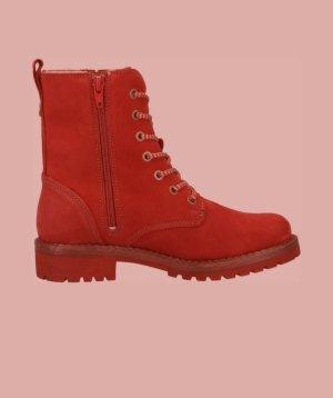 Tamaris Botines de invierno rojo oscuro