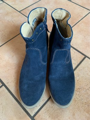 Tamaris Stivaletto western blu scuro