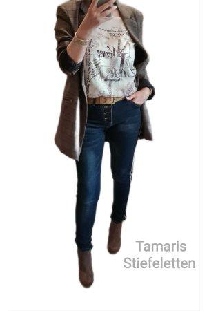 Tamaris Stiefeletten Braun Gr 36 - Neuwertig