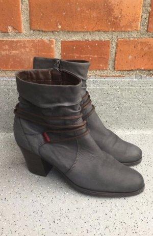 Tamaris Zipper Booties grey