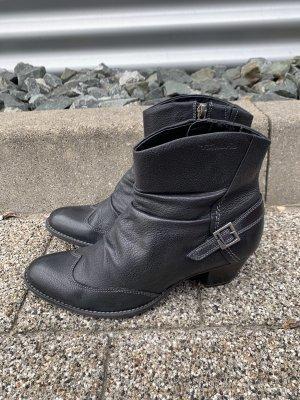 Tamaris Stiefeletten schwarz gr 39 mit Reißverschluss