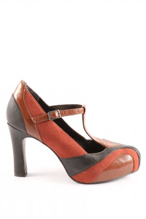 Tamaris T-Steg-Pumps mehrfarbig Casual-Look