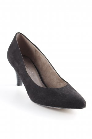 Tamaris T-Strap Pumps black elegant