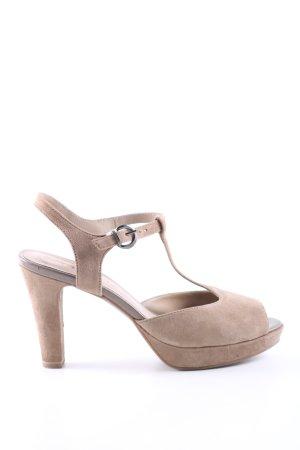 Tamaris T-Steg-Sandaletten creme Casual-Look