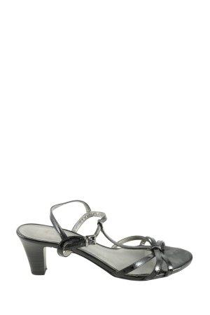 Tamaris T-Steg-Sandaletten schwarz Casual-Look