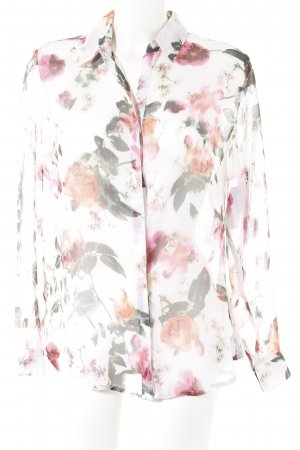 Tamaris Blusa trasparente motivo floreale stile casual