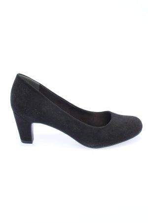 Tamaris Loafers zwart zakelijke stijl