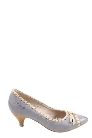 Tamaris Zapatos Informales azul-blanco puro look casual