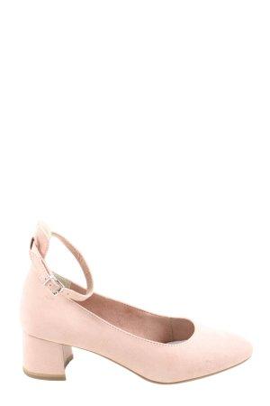 Tamaris Riemchenpumps pink Casual-Look