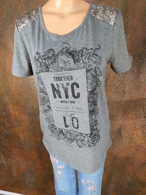 Tamaris T-shirt grigio