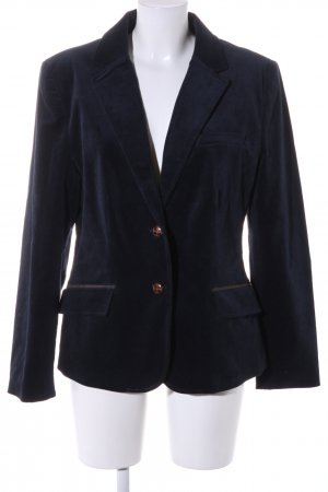 Tamaris Unisex blazer donkerblauw zakelijke stijl