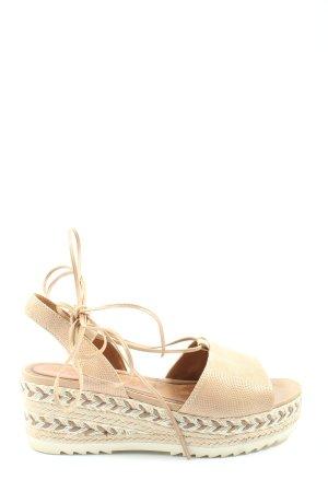 Tamaris Wedge Sandals natural white casual look
