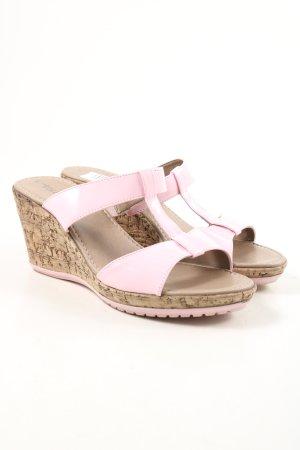 "Tamaris Wedge Sandals ""W-np1mtw"" pink"