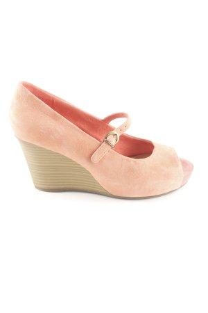 Tamaris Wedges Sandaletten pink Casual-Look