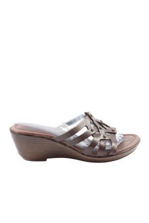 Tamaris Wedge Sandals brown casual look
