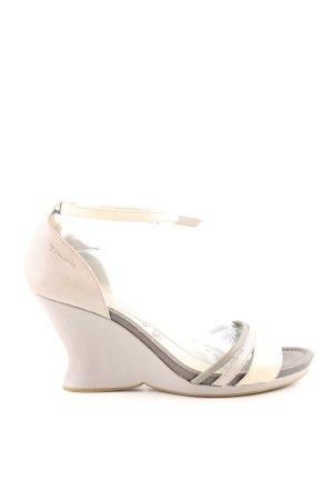 Tamaris Wedges Sandaletten wollweiß Casual Look