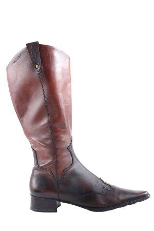 Tamaris Botas estilo vaquero marrón estilo clásico