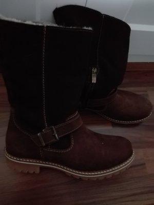 Tamaris Winter Boots gr 42 braun neu