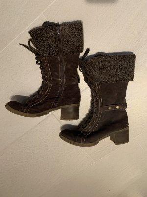 Tamaris Winter Boots brown-dark brown
