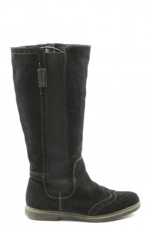 Tamaris Winterstiefel schwarz Casual-Look