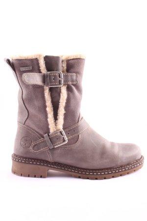 Tamaris Winter Boots light grey casual look