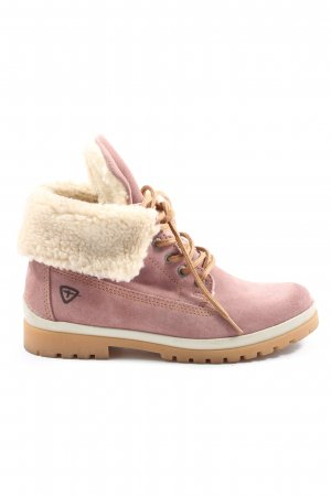 Tamaris Winterstiefel pink-wollweiß Casual-Look