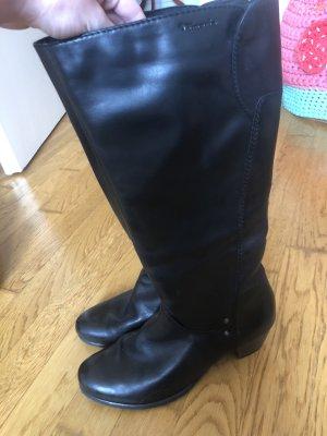 Tamaris Wide Calf Boots black