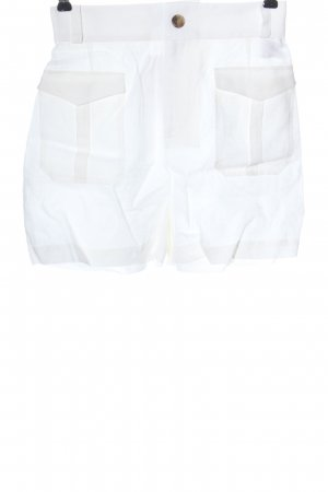 Tan & Teal Linnen broek wit casual uitstraling